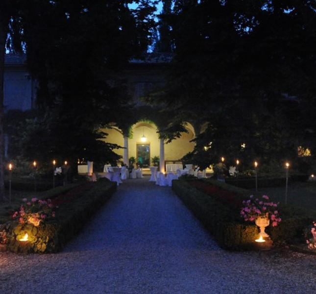 Scorcio di Villa Ferrari di Gussola (Cremona)