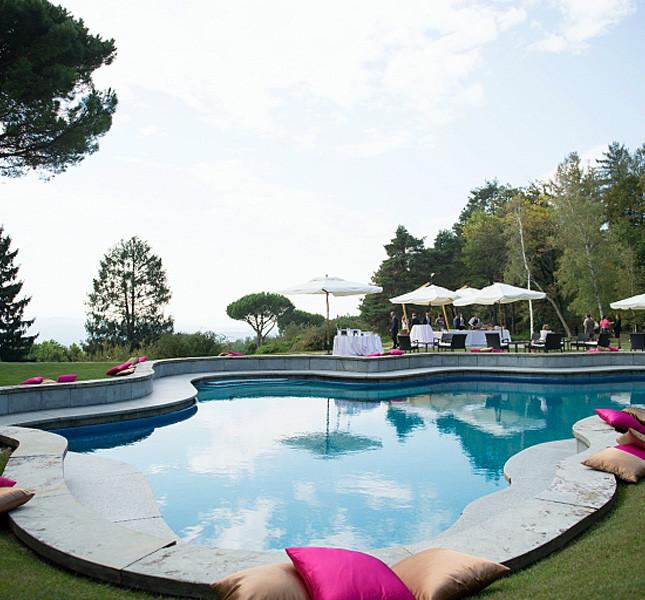 Villa San Martino, e allestimento di Bluemilia Studio