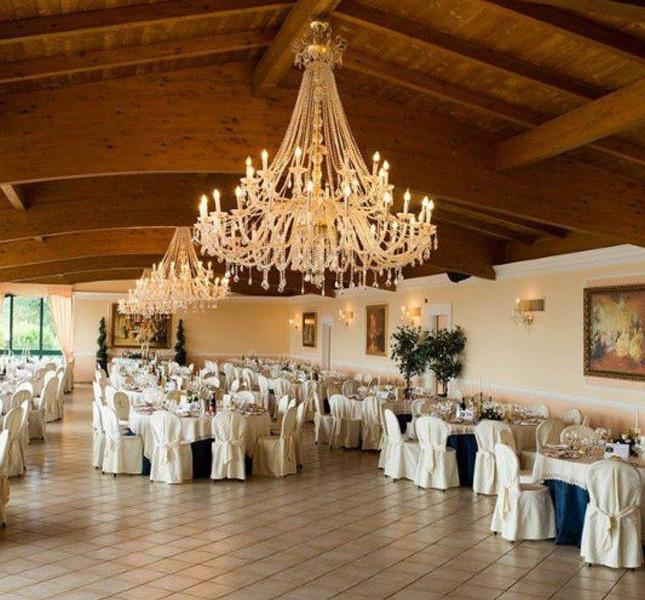 Sala interna di Villa Scariglia Piagge - Ascoli Piceno.