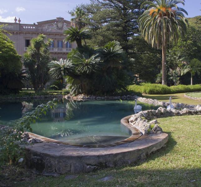 Il favoloso giardino di Villa Tasca dei Conti D'Almerita, Palermo.