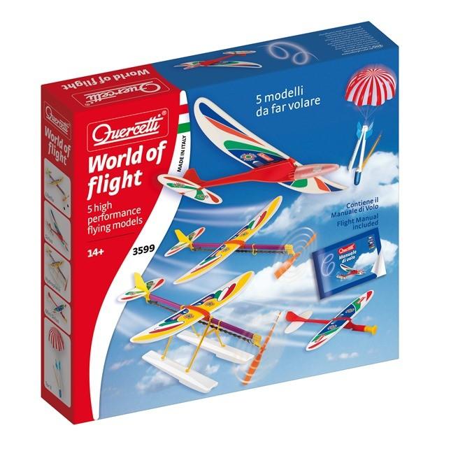 World of Flight aerei e missili da far volare con modalità diverse, età 14+ prezzo 29,50 Euro