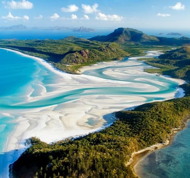 Australia, Whiteheaven Beach. Una spiaggia il cui nome è tutto un programma