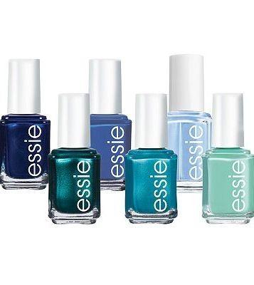Tutte le tonalità di blu della collezione Essie