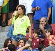Alena Seredova durante la FIFA World Cup in Brasile