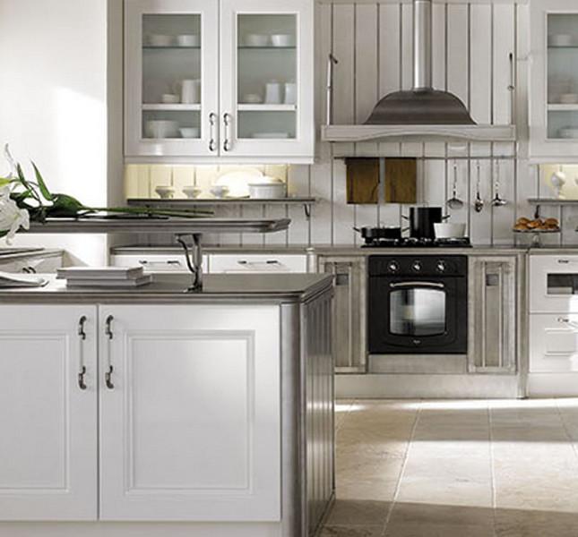Design classico e dinamico per la cucina modello Ambra di Gatto