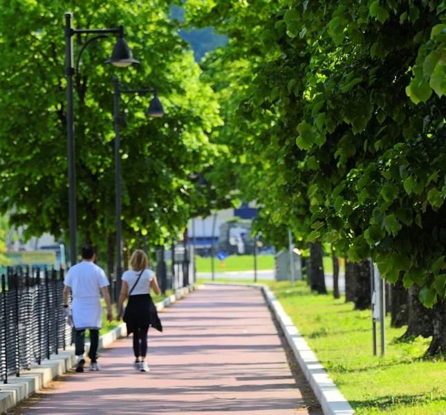 Dal resort si possono raggiungere facilmente piacevoli sentieri, laghetti, boschi e cascate