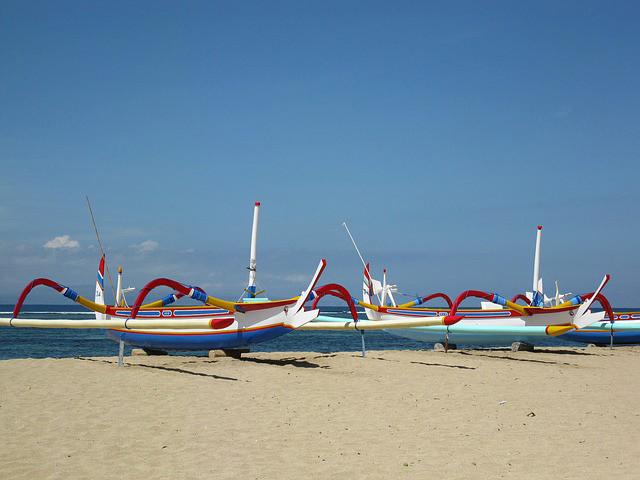 Imbarcazioni di Bali, per chi ama le escursioni.