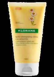 Un altro alleato della bellezza dei capelli biondi è il balsamo Klorane agli estratti di camomilla