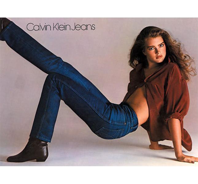 L'iconica campagna Calvin Klein 1981 con una Brooke Shields quindicenne