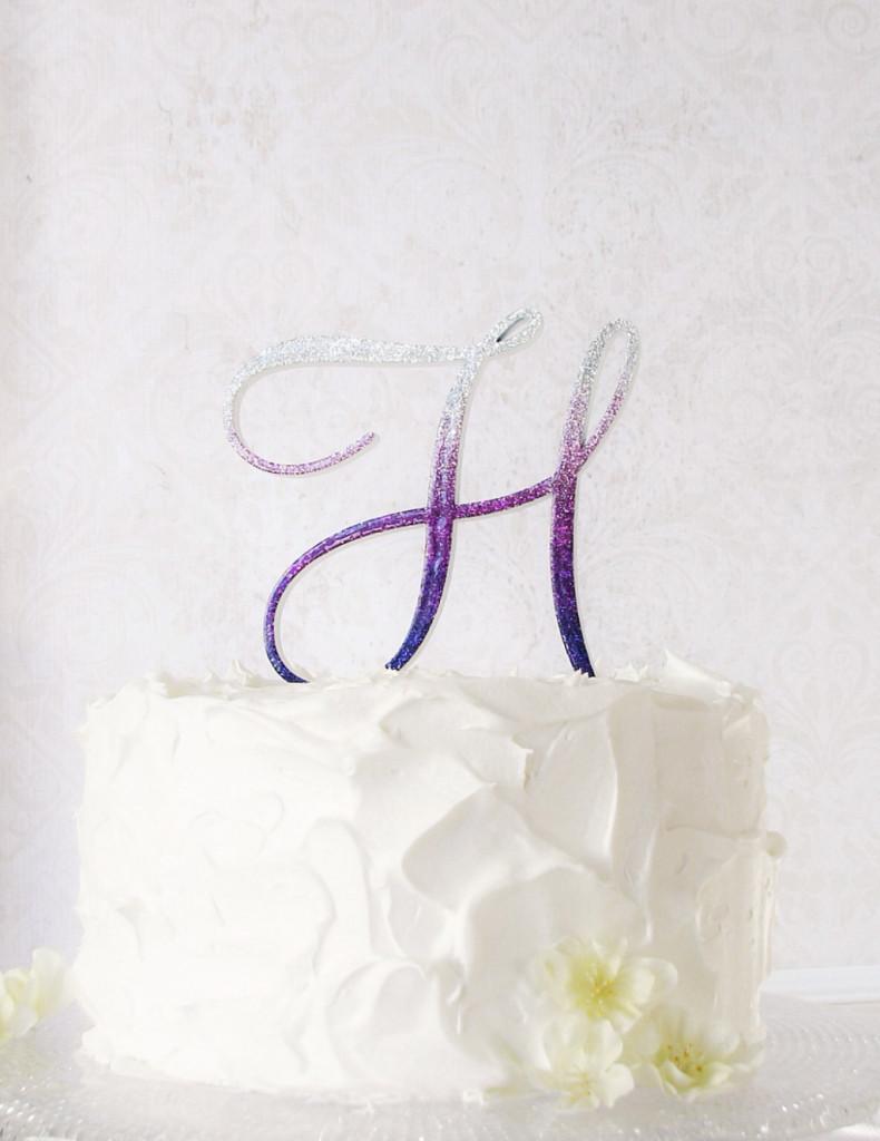 cake topper originale per un matrimonio elegante