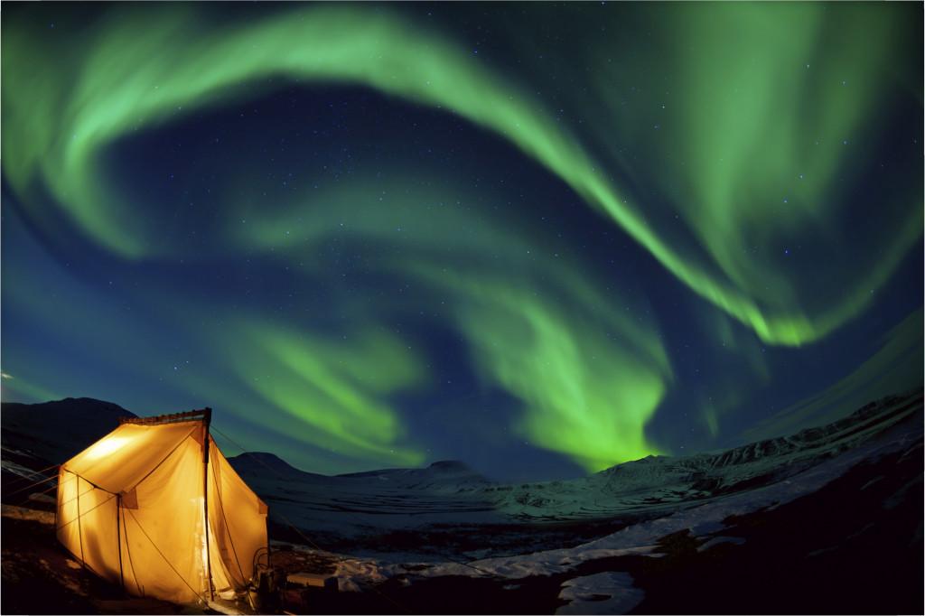 In Canada la zona del Lake Superior è un ottimo punto di osservazione per l'aurora boreale