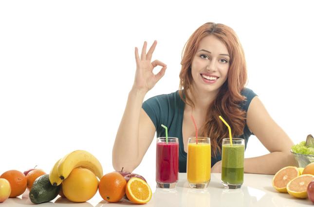 i frullati sono ricchi di vitamine e sali minerali