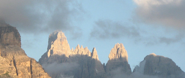 Le Dolomiti offrono uno dei cieli più tersi da osservare