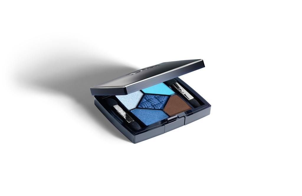 5 Couleurs Transat Edition: gli ombretti della collezione estate 2014 di Dior si ispirano al blu dell'oceano e all'azzurro del cielo