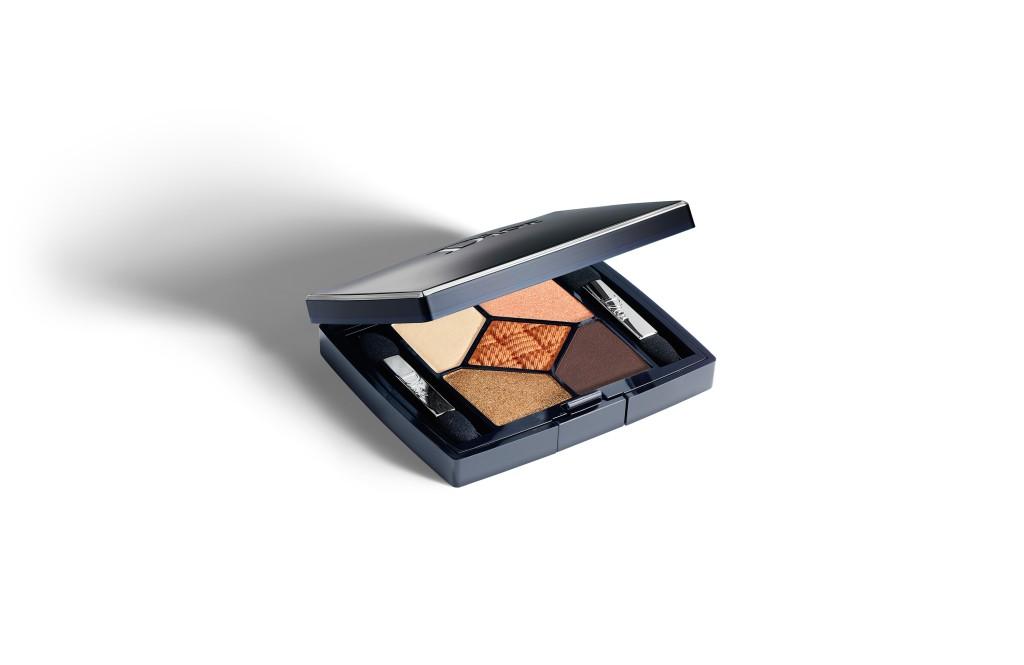 Toni caldi, luminosi e naturali per la combinazione Sundeck degli ombretti 5 Couleurs Transat Edition
