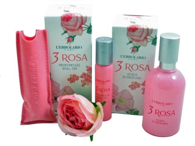3 Rosa la gamma dei profumi