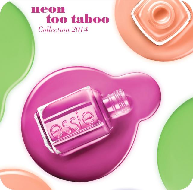 Neon Too Taboo, la nuova linea di smalti Essie per l'estate 2014