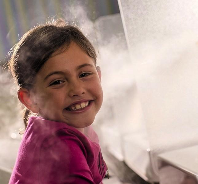 Anche i bambini possono sfruttare le proprietà delle cure termali. Chiedete informazioni al vostro pediatra ph©Giorgio Salvatori:Officina Photografica