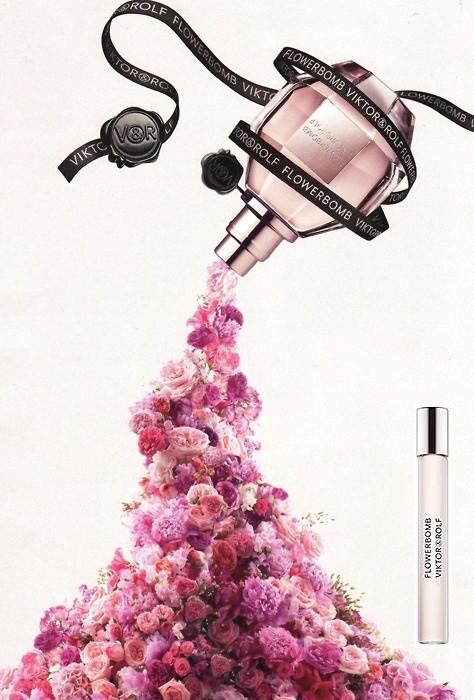 Flowerbomb, versione roll on. La pragranza è un'esplosione di potere floreale per vedere ogni cosa dal lato positivo.