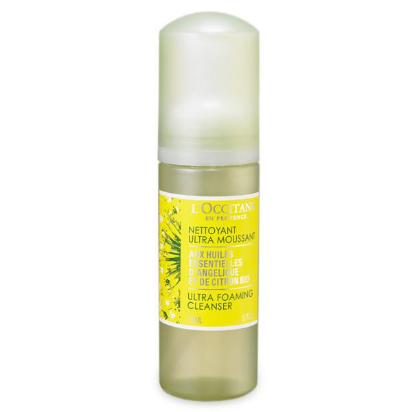 Detergente Angélique Citron con estratto di Anglica Bio elimina trucco e impurità per una pelle sana
