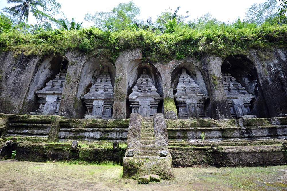 Gunung Kawi, caratteristici santuari scavati nella roccia