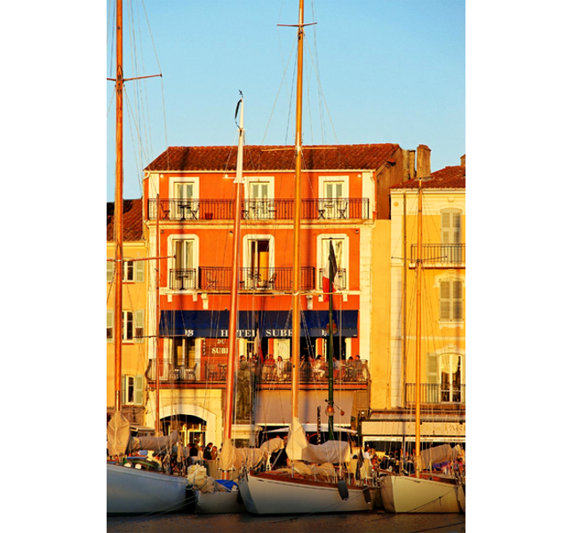 L'hotel Sube, tra i più apprezzati di Saint-Tropez