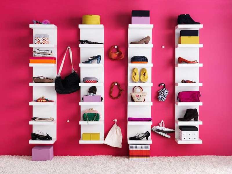 Se ami le scarpe a vista questa scarpiera di design Ikea è ciò che fa per te!