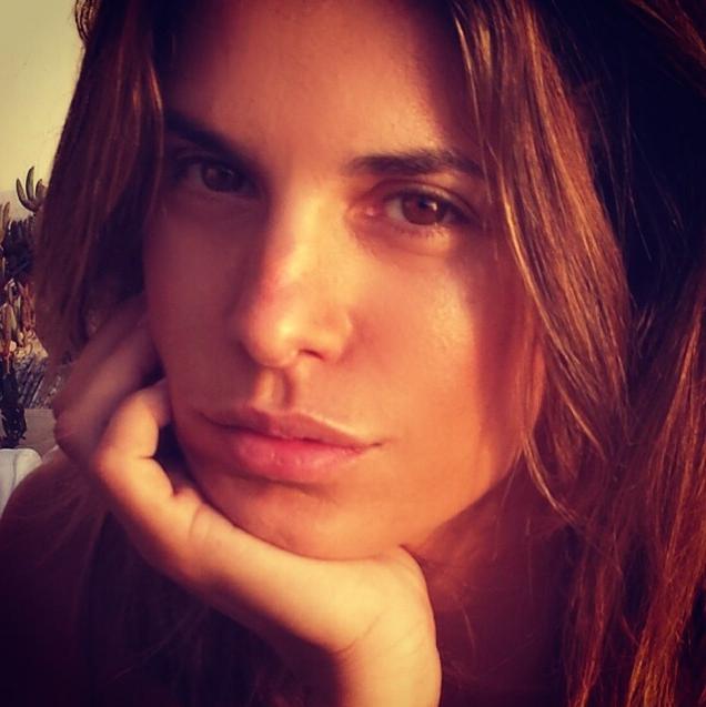 Un bellissimo scatto pubblicato sul profilo instagram della showgirl ritrae Eli acqua e sapone