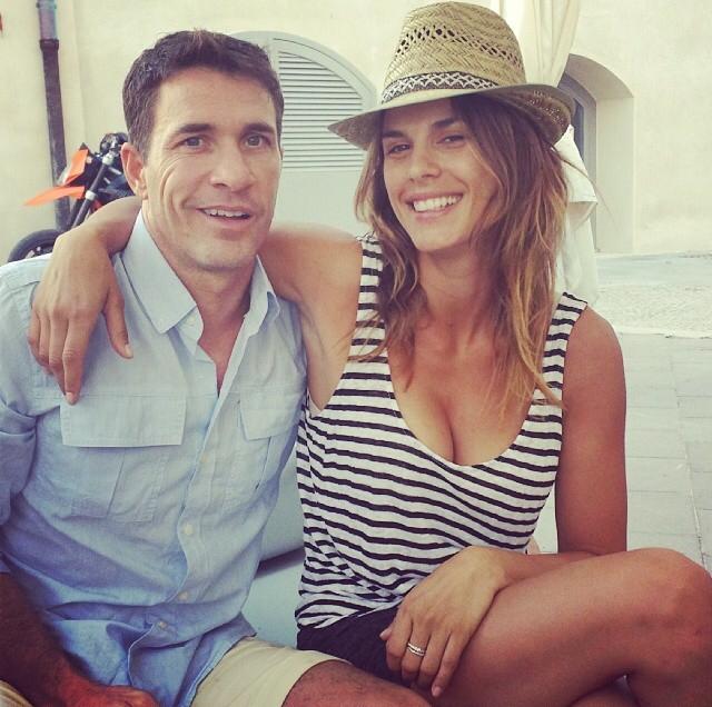 Vacanze italiane per la coppia formata da Elisabetta Canalis e Brian Perri