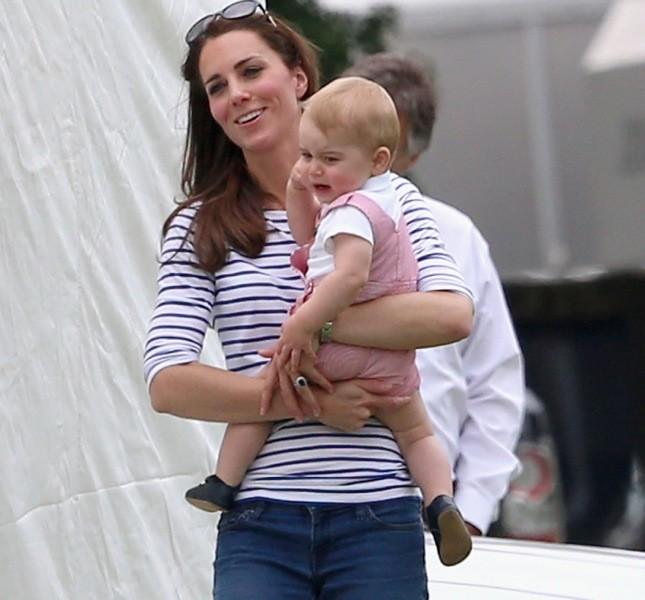 Kate e il piccolo George. Anche lui diventerà un super sportivo?