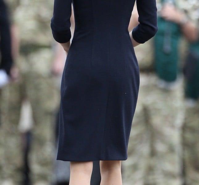 Il lato lato B di Kate… non ha fatto parlare come quello della sorella Pippa ma è comunque in forma
