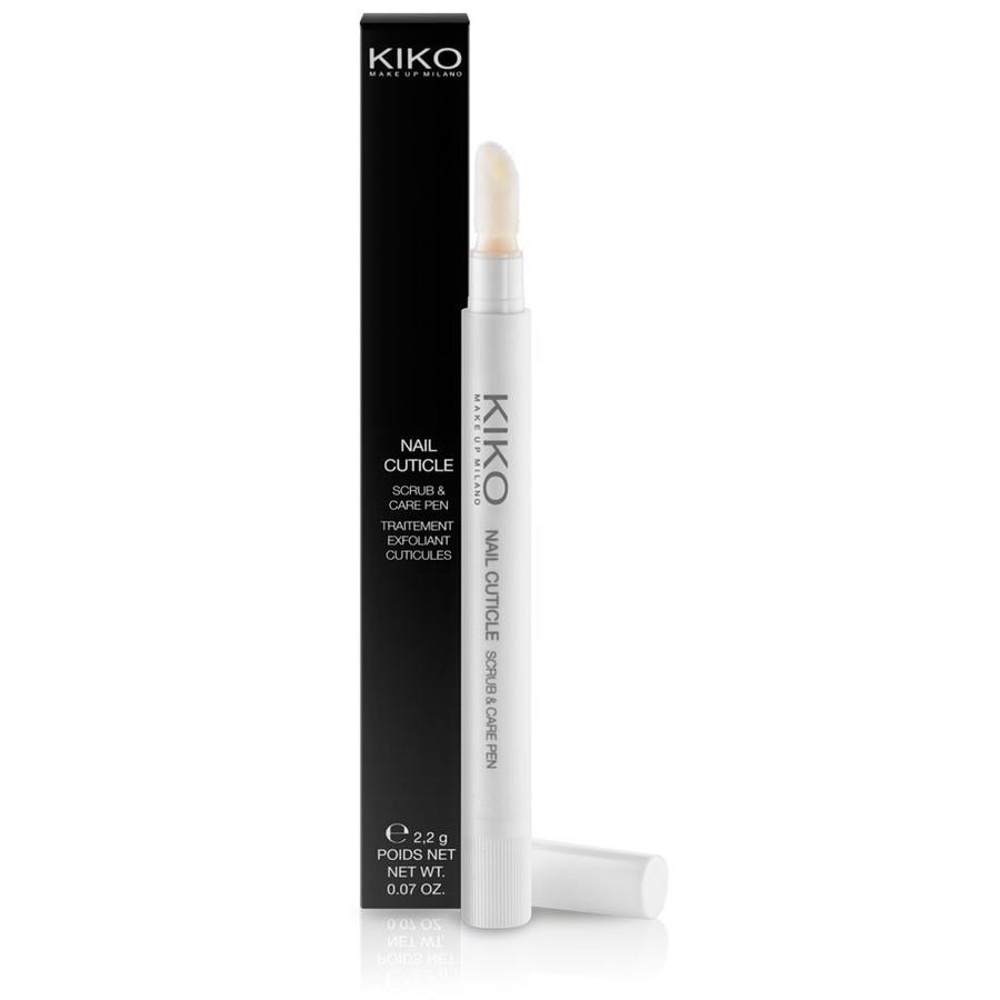 una penna esfoliante per cuticole che può essere usata in abbinamento con l'olio