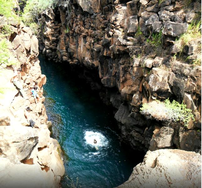 Las Grietas: acque che fanno innamorare