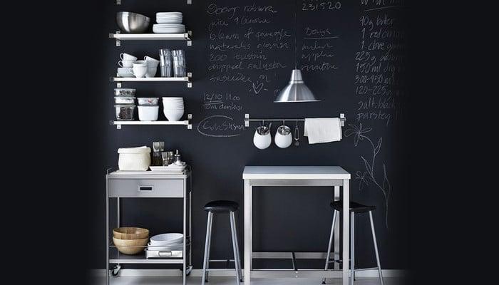 La pittura lavagna, tante idee per usarla in casa | UnaDonna