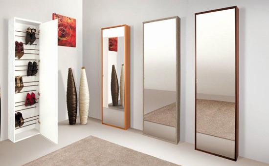 Da Mercatone Uno puoi trovare diversi modelle di scarpiere a specchio e slim