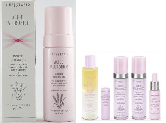Mousse Detergente con Acido ialuronico assicura una triplice attività benefica per preservare il capitale idrico della pelle.