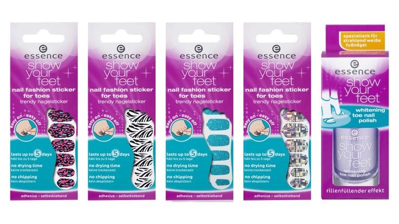 Essence show your feet di Essence - sticker per unghie