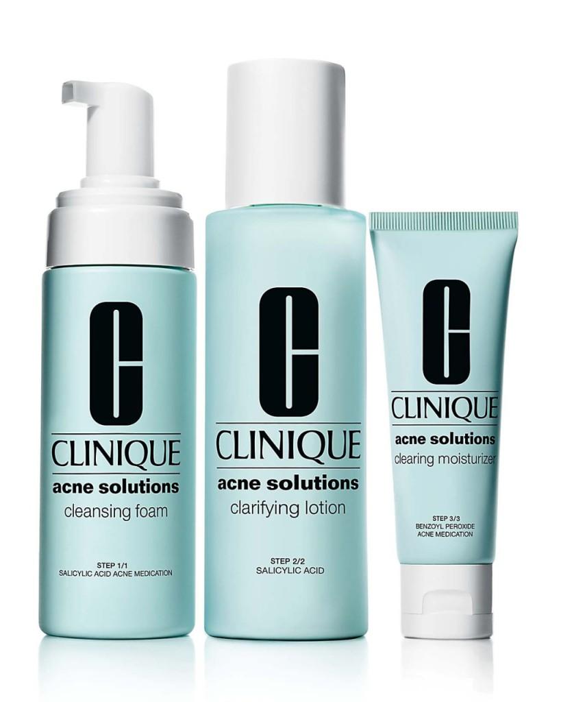 Acne Solution Clarifying Lotion, è una lozione esfoliante che agisce come trattamento preventivo conte i brufoli.