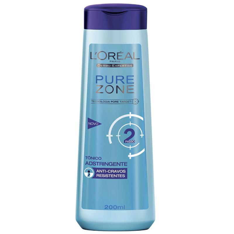 Pure Zone tonico astringente purificante, riduce le imperfezioni, elimina l'eccesso di sebo sulla superficie della pelle.