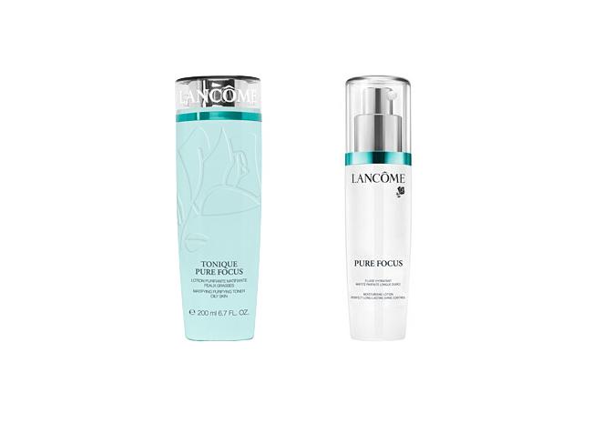Pure Focus Toner è un tonico bifasico: la prima fase in acqua purifica e restringe i pori, la fase in polvere opacizza la pelle e lascia un colorito uniforme. Non comedogenico.