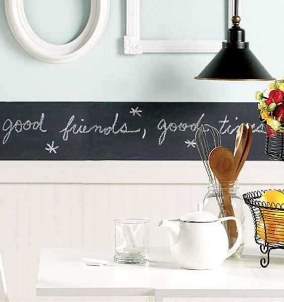 Dedicata ad amici e famigliari. La pittura lavagna dona lascia trasparire il tuo lato artistico
