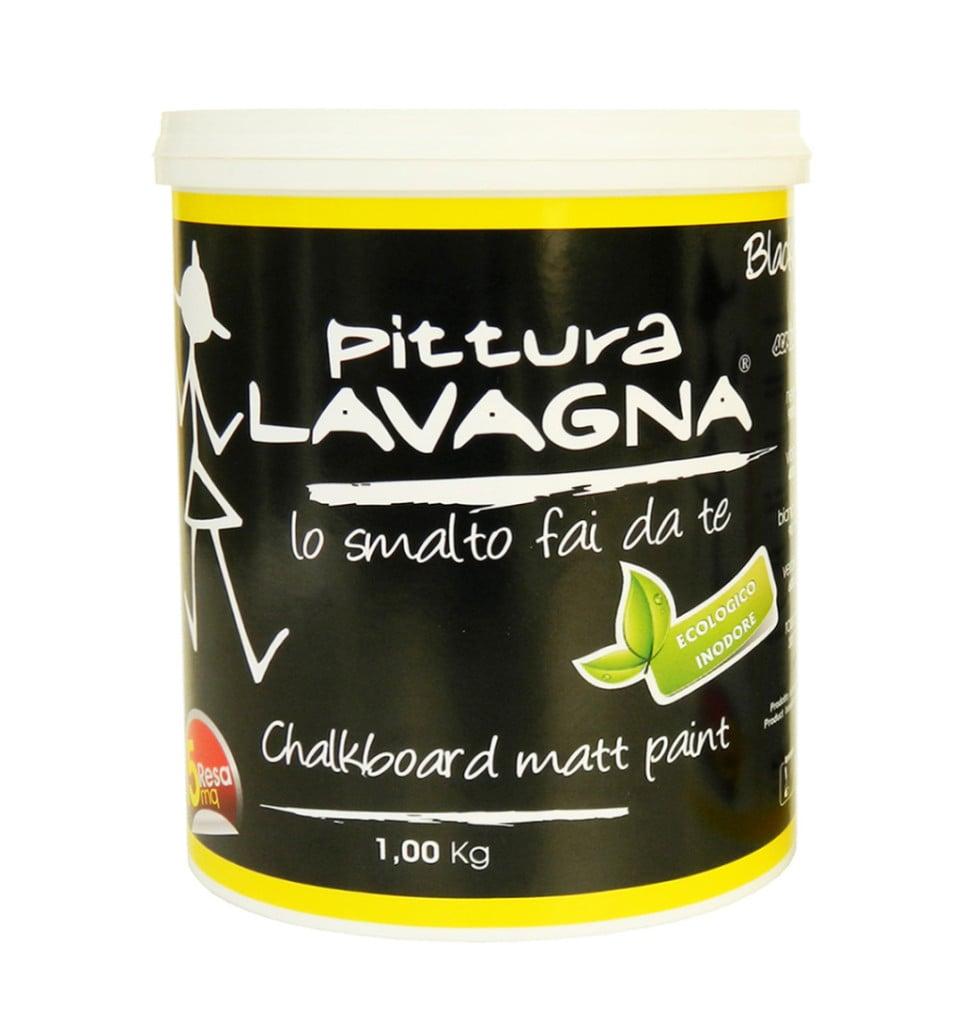 Vernice Lavagna Magnetica Colorata la pittura lavagna, tante idee per usarla in casa | unadonna