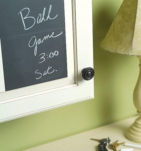 Tuo marito dimentica spesso i vostri impegni? La soluzione scrivila sul muro di casa!
