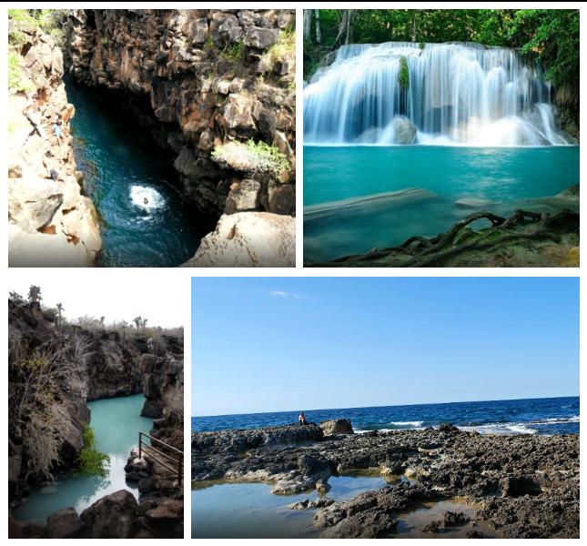 Le 14 piscine naturali più belle del mondo