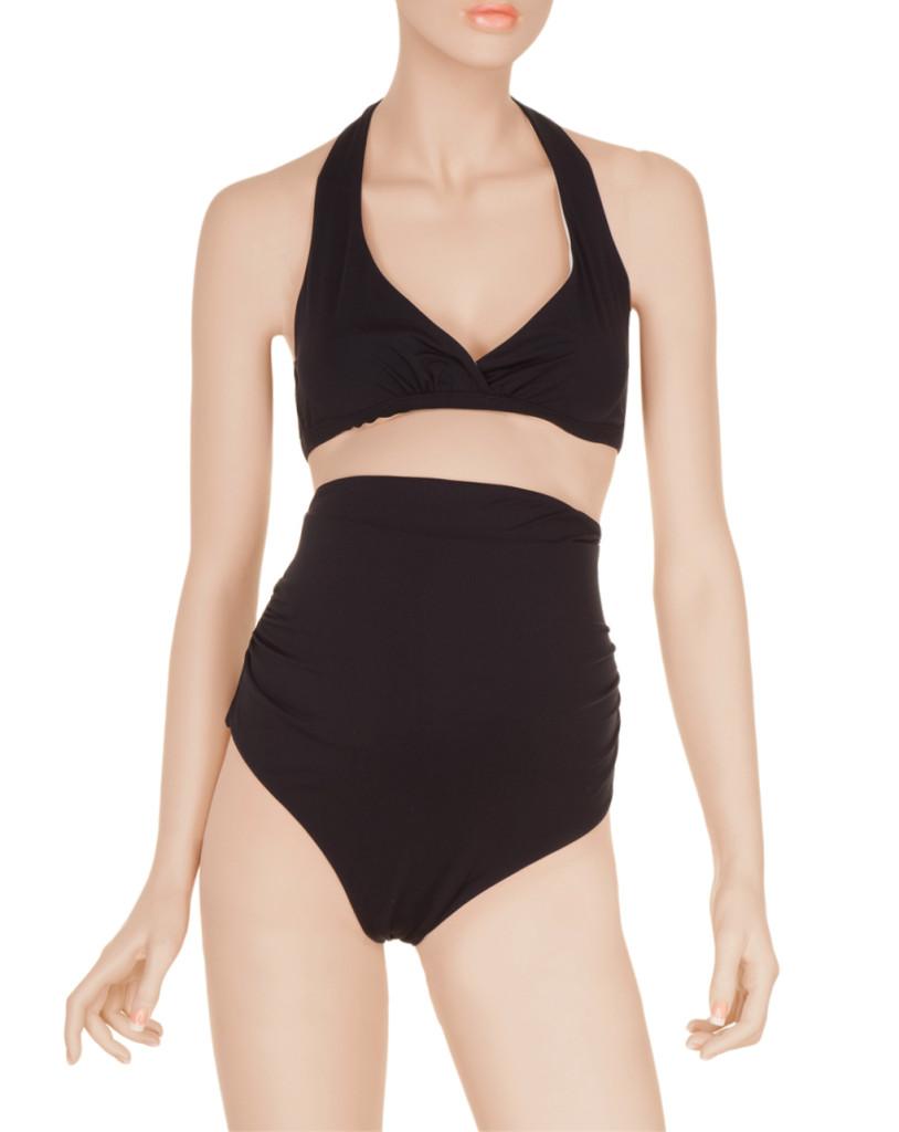 Bikini con slip alto per abbracciare la pancia