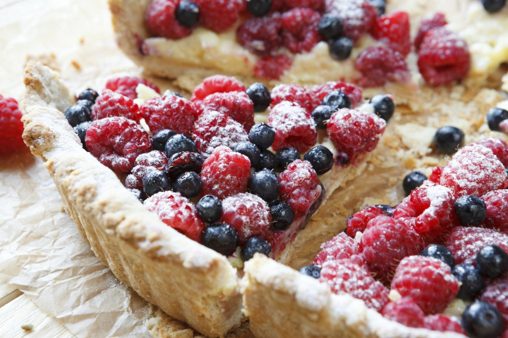 per il dessert niente di meglio di una bella crostata di frutta, fresca e deliziosa