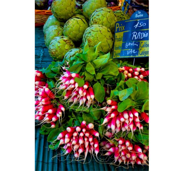 Che colori al mercato di Saint-Tropez! / photo: risastla @ flickr