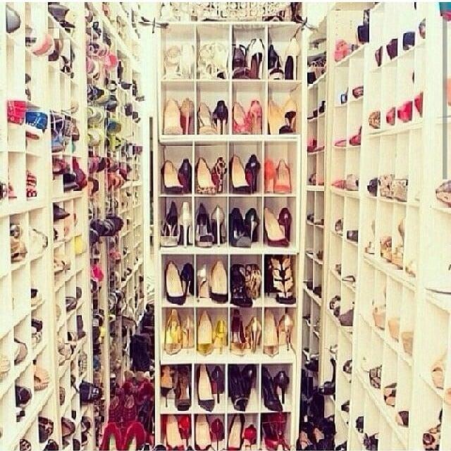 Scarpe, scarpe e ancora scarpe! Tante idee per tenere in ordine il tuo tesoro
