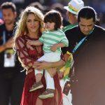 Shakira e il piccolo Milan