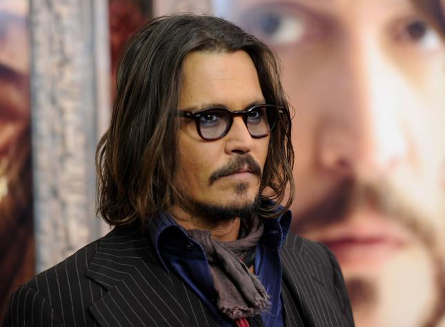 Johhny Depp alla premier mondiale di